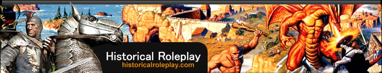 Historical Rolplay - all about old and classic role playing games.